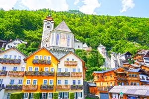 Picturesque Hallstatt in the Upper Austria Alps 2 of 4 by 360 Studios