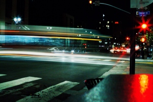 Santa Monica Traffic by Aamorephotography