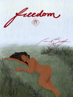 Freedom of Nudity by Afrocentric Painter