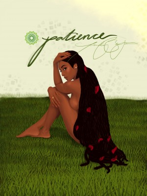 Patience by Afrocentric Painter