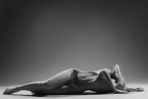 Nude glamour erotic naked woman by Alessandrodellatorre