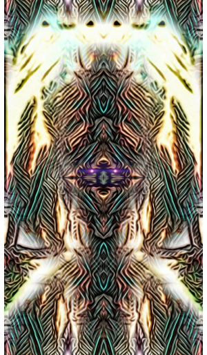 Meditation fire by Angelo Silver