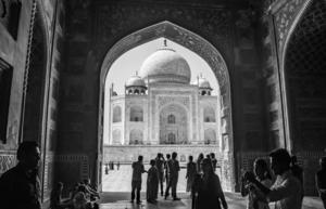 Taj Mahal  by Aniket Wasnik