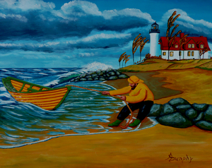 Ashore At Last by Anthony J Dunphy