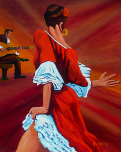 Dancing in Red by Anthony J Dunphy