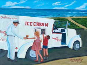 Ice Cream by Anthony J Dunphy