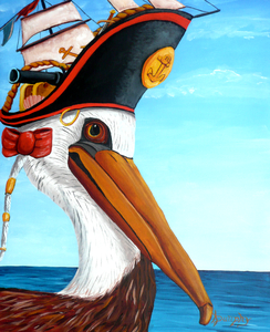 capn pelican by Anthony J Dunphy