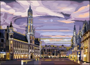 brussels belgium by archipics by Archipicsstore
