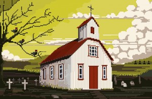 Church Iceland by Archipicsstore