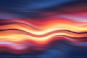 Abstract Sunset IX by Art Design Works