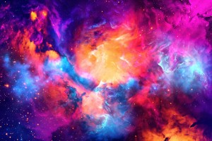 Artistic XC - Colorful Nebula by Art Design Works