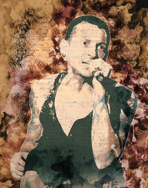 Chester Charles Bennington by ArtDragon