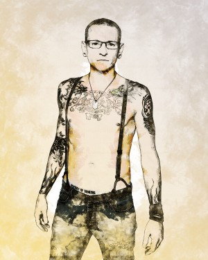 Chester Bennington by ArtDragon