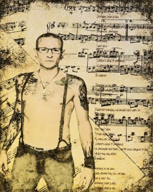 Chester Bennington Linkin Park by ArtDragon