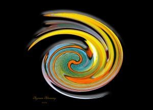 The whirl, W1.11B3 by Ayman Alenany