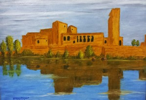 Temple of Philae, the ancient scene by Ayman Alenany