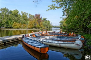 Canoes by BLAIS Photo
