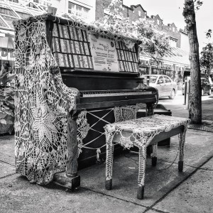Street Piano by BLAIS Photo