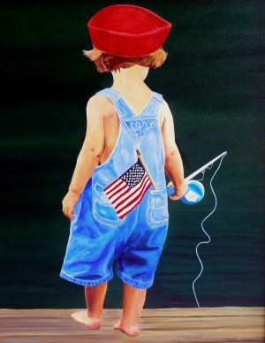 All American Boy by Bella Visat Artist