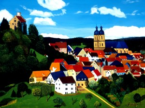 BAVARIAN VILLAGE by Bella Visat Artist