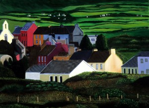 IRELAND VILLAGE by Bella Visat Artist