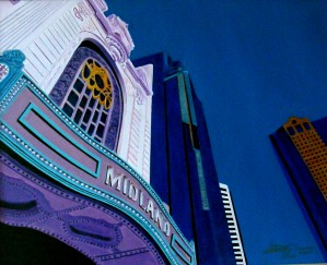 MIDLAND THEATER KCMO by Bella Visat Artist