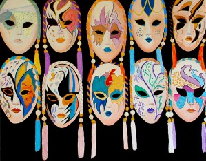 VENICE MASK SHOPPE by Bella Visat Artist