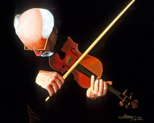 Violin Virtuoso by Bella Visat Artist