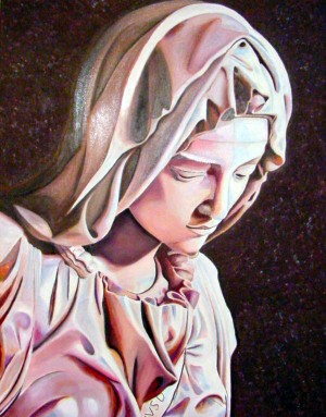 Madonna from the Pieta by Bella Visat Artist