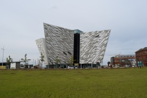 THE TITANIC MUSEUM, BELFAST by Brian Corbett