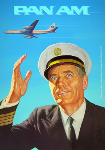 PAN AM 1960 by Captain Poster