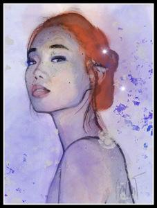 Queen of beauty by Caroline Hulin