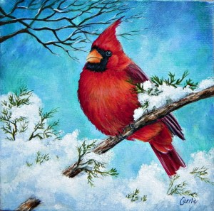 Snow Bird by Carrie Paquette