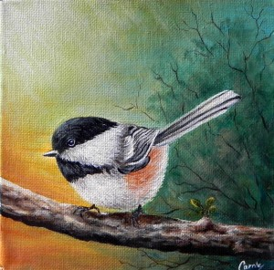 Chickadee by Carrie Paquette