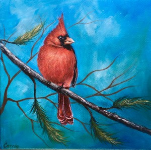 Mr. Cardinal by Carrie Paquette