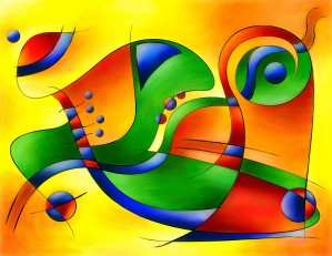 Antaressa - colourful world by Cersatti Art