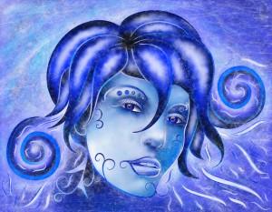 Frosinissia V1 - frozen face by Cersatti Art
