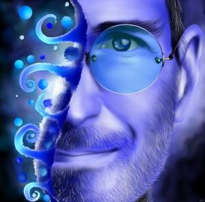Joblerium - Steve Jobs portrait by Cersatti Art
