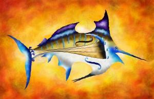 Marlinissos V1 - violinfish by Cersatti Art