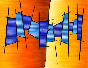 Seria Caloni V1 - the gift by Cersatti Art