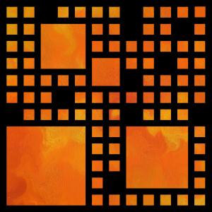 Visopolis V1 - orange flames by Cersatti Art