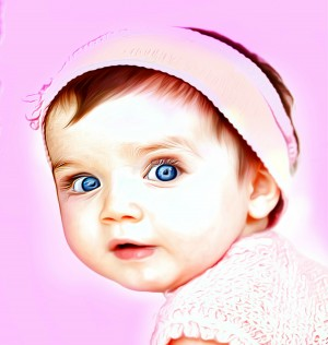 Cute Baby Pic Art