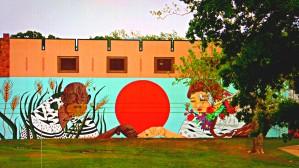 Beautiful Mural OKC