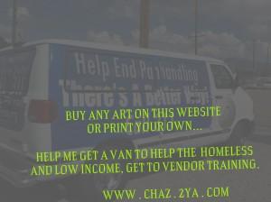 helping the homeless get to vendor training. OKC