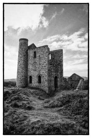 Tin Mine Cornwall by Chris Cramer