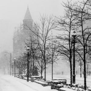 Gooderham in Winter by Chris Cramer