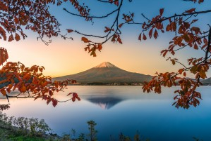 Fuji autumn by CyclopsfromHungary