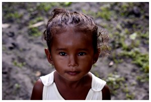 Guyana child in the Jungle by D de G