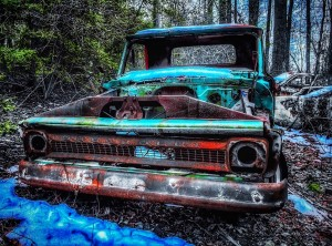 Abandoned Chevy by DH Photo Concepts