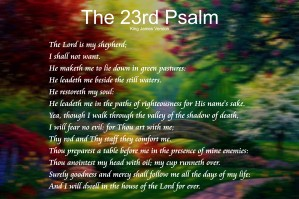 2-The 23rd Psalm by Daniel M  DeAbreu